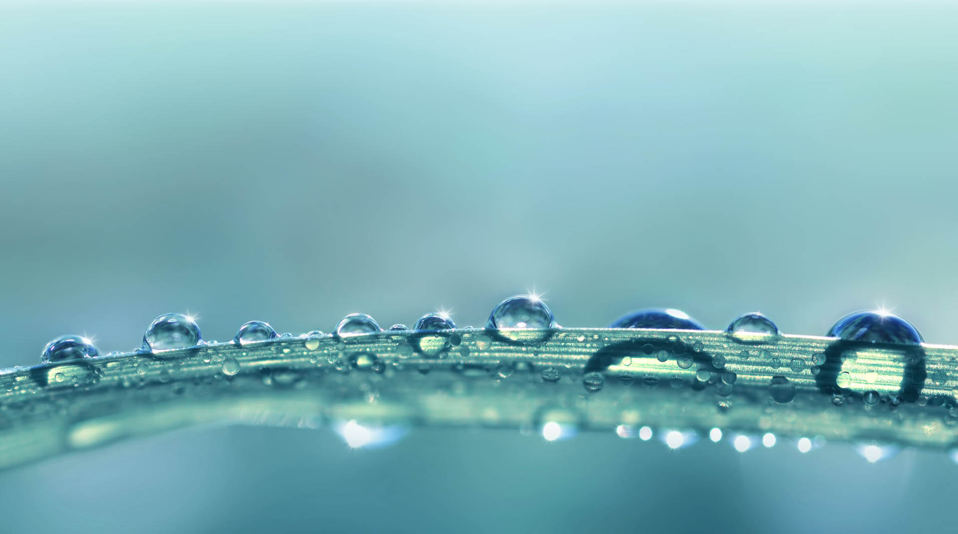 Mindfulness water droplets